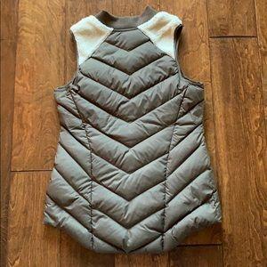 Athleta Jackets & Coats - Athleta Goosedown and Sherpa Puffer Vest